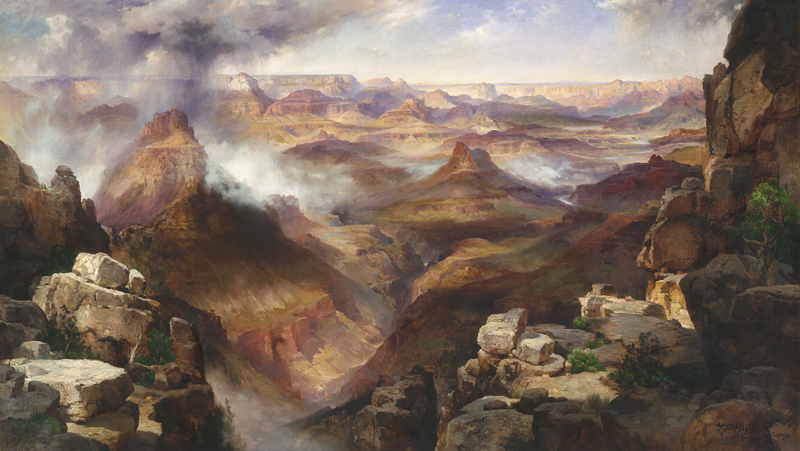 Thomas Moran Grand Canyon Panorama